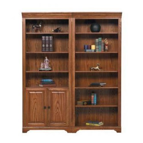 Winners Only Heritage Oak Modular Bookcase Set