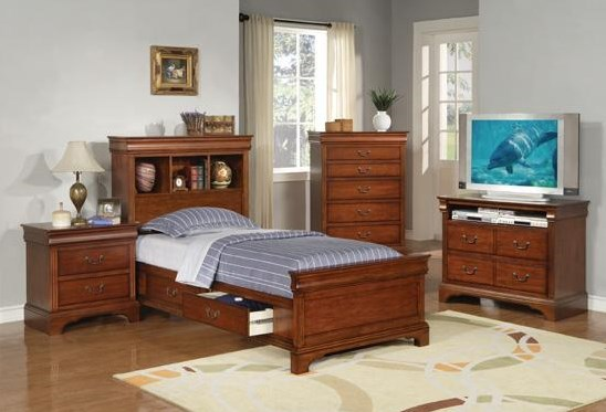 Shown with Nightstand, Storage Bed, and TV Chest