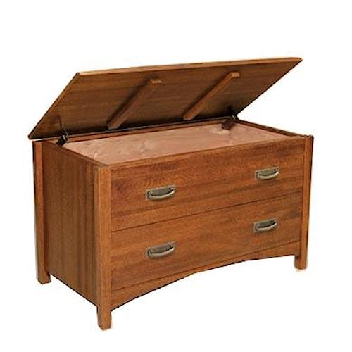 Witmer Furniture Heartland Lift Top Cedar Chest