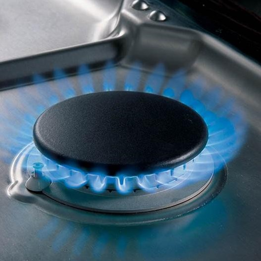 Dual-Stacked Burners Provide Simmer and High Heats