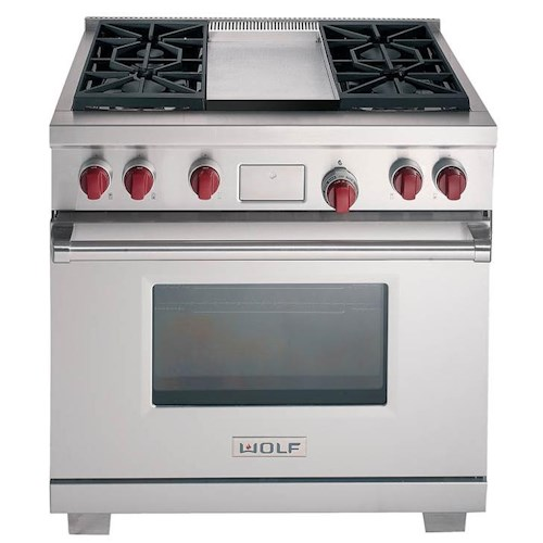 Wolf Dual Fuel Ranges 36