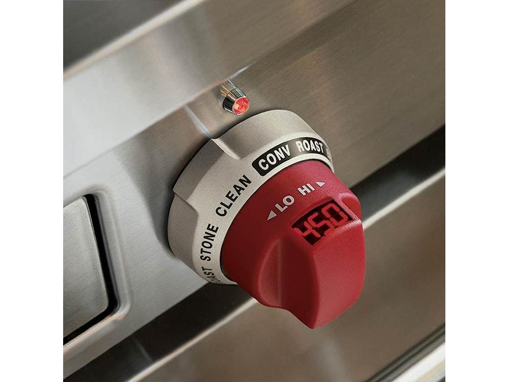 Knob with Digital Temperature Display