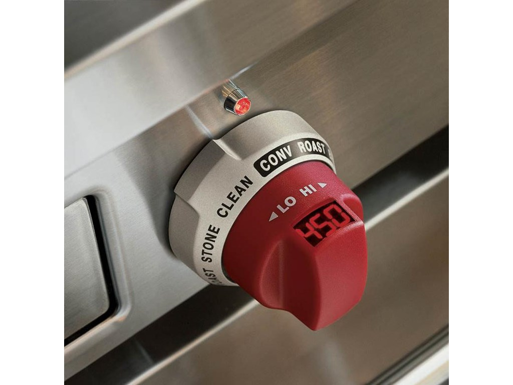 Knob with Oven Temperature Display