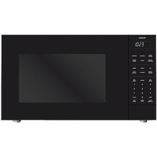 Wolf Microwaves 1.5 Cu. Ft. Built-In or Freestanding Convection Microwave