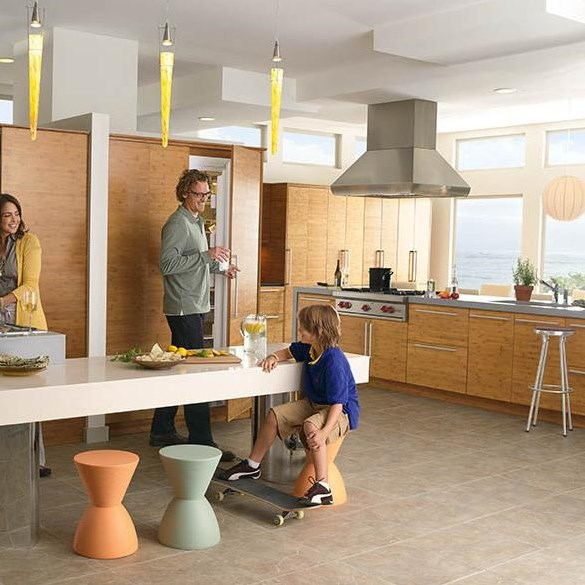 Finish Your Kitchen Design with the Island Hood