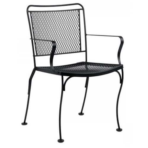Woodard Constantine Outdoor Dining Arm Chair
