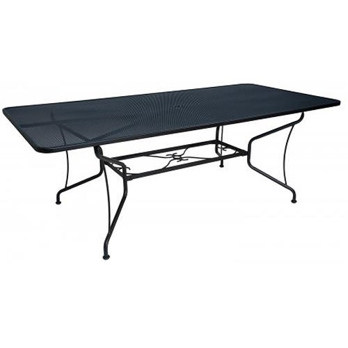 Woodard Tucson Rectangle Umbrella Table w/ 8 Spoke