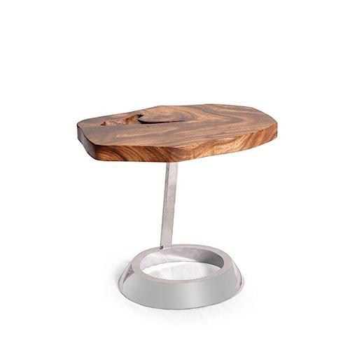 Morris Home Furnishings Anika  Oval End Table