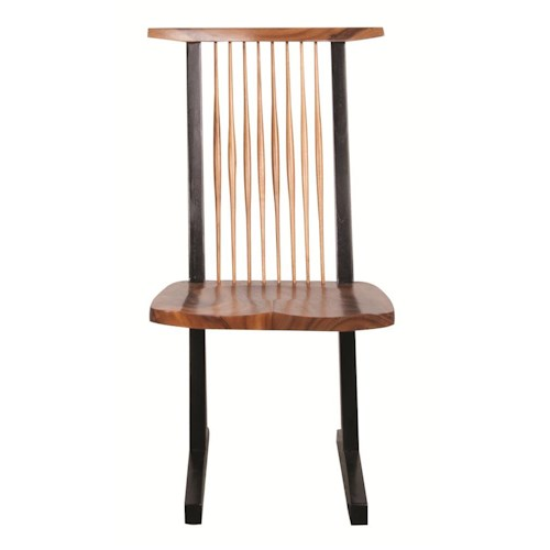 Morris Home Furnishings Nicholas Naka Chair Side Chair