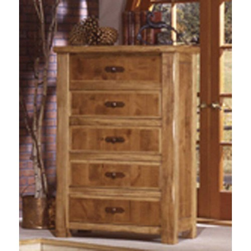 International Furniture Direct Lodge Vertical Chest
