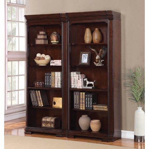 Flexsteel Wynwood Collection Westchester Bunching Bookcase