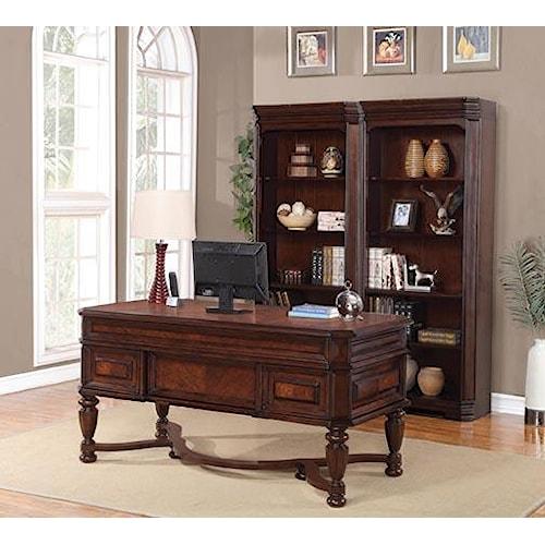 Flexsteel Wynwood Collection Westchester Writing Desk
