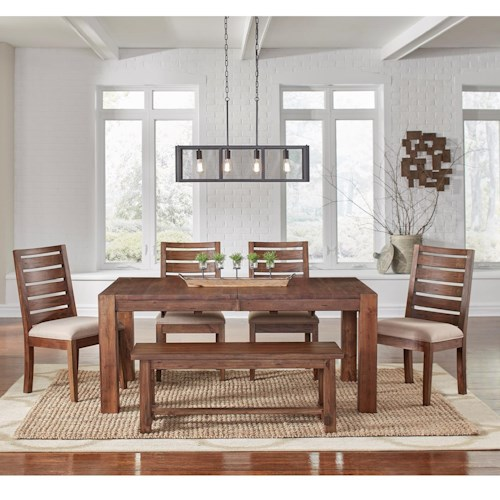 Aamerica Anacortes 6 Piece Dining Set Conlin 39 S Furniture Dining 7 Or More Piece Set