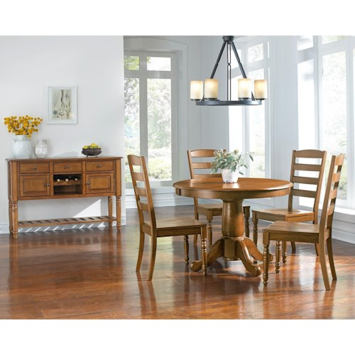 home casual dining room groups aamerica roanoke casual dining room