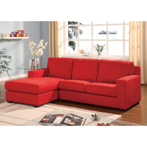 Acme Furniture Sectionals Sectional Sofa With Left Arm