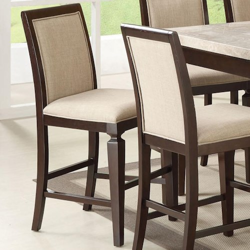 Acme Furniture Agatha 72487 Counter Height Chair Del Sol Furniture Bar Stools Phoenix