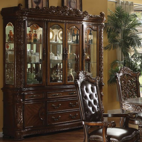 Acme Furniture Vendome 60006 Hutch Amp Buffet Del Sol