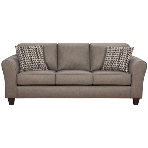 Affordable furniture 5000 sofa with flared arms colder 39 s for Affordable furniture and appliances
