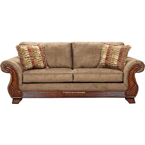 Affordable Furniture 8400 Traditional Sofa Royal Furniture Sofa Memphis Jackson Nashville