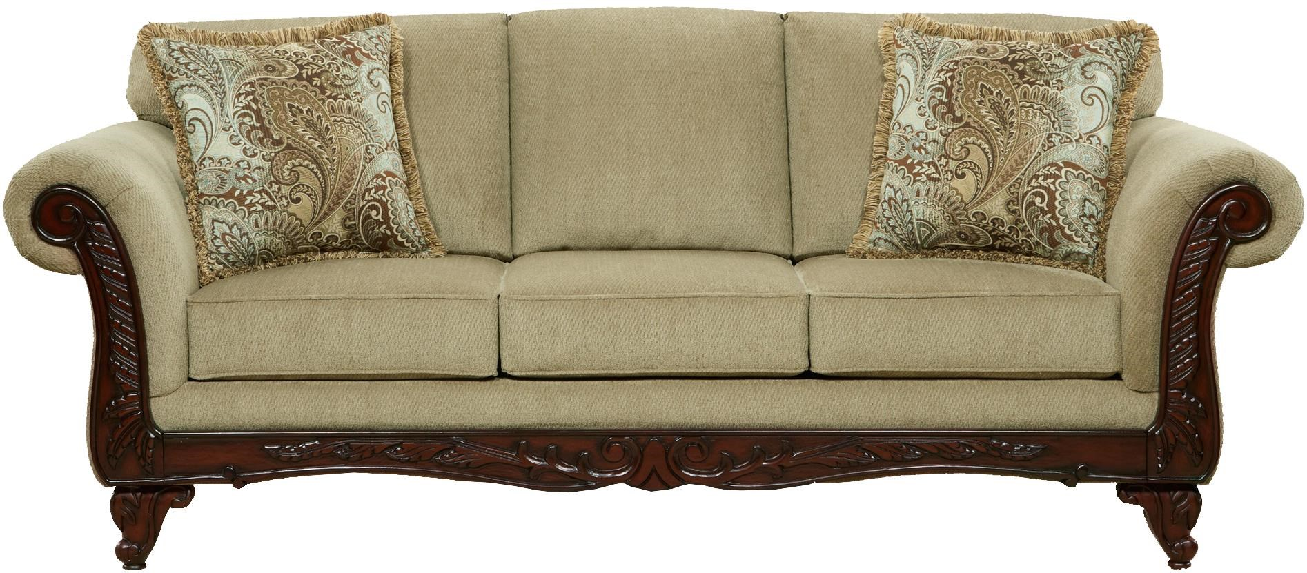 Affordable Furniture 8500 Traditional Sofa