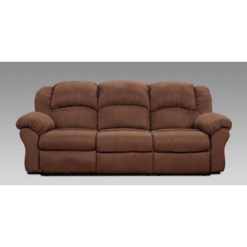 Affordable furniture 1000 power reclining sofa ivan for Affordable furniture brandon