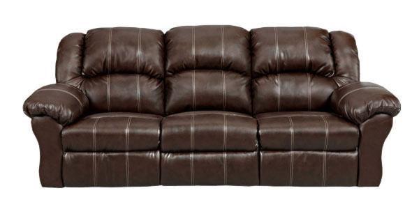 Affordable Furniture 1002 Brandon Reclining Sofa - Ivan Smith Furniture - Sofa