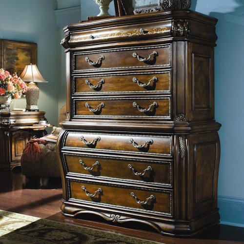 Michael Amini Oppulente Traditional Chest Of Drawers
