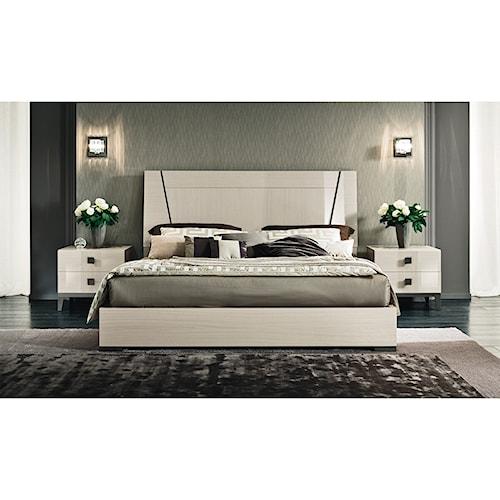 Alf Italia Mont Blanc King Bedroom Group Stoney Creek Furniture Bedroom G