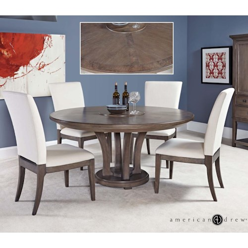 American drew park studio modern 5 piece 60 dining room for Dining sets nashville tn