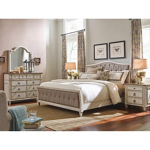 american drew southbury queen bedroom group wayside