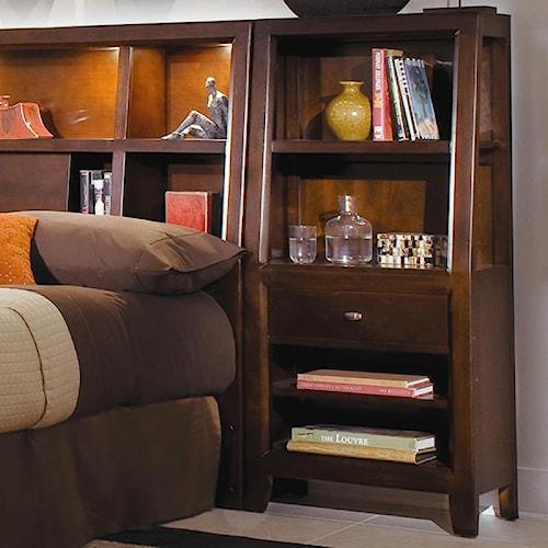American Drew Tribecca 912 402 Bookcase Nightstand