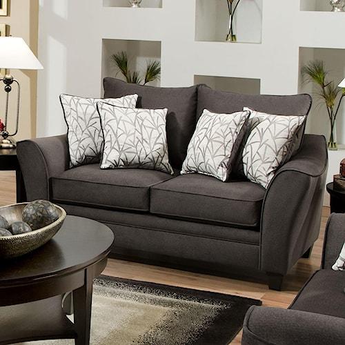 All American Furniture Memphis Tn: American Furniture 3850 Loveseat