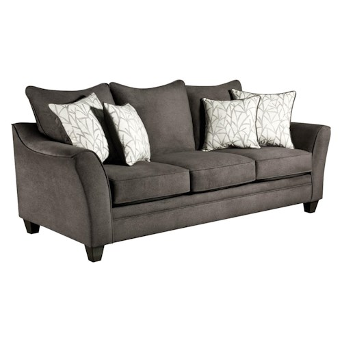 American Furniture 3850 Sofa | Royal Furniture | Sofa ...