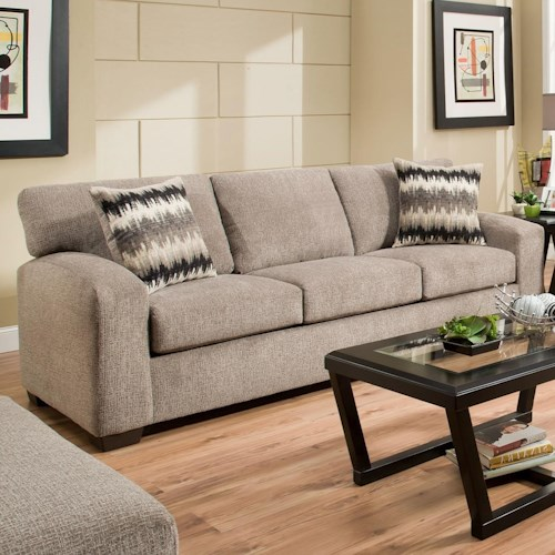 Sectional Couch Hattiesburg Ms: American Furniture 5250 Sofa