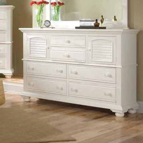 American woodcrafters cottage traditions high dresser for American woodcrafters bedroom furniture
