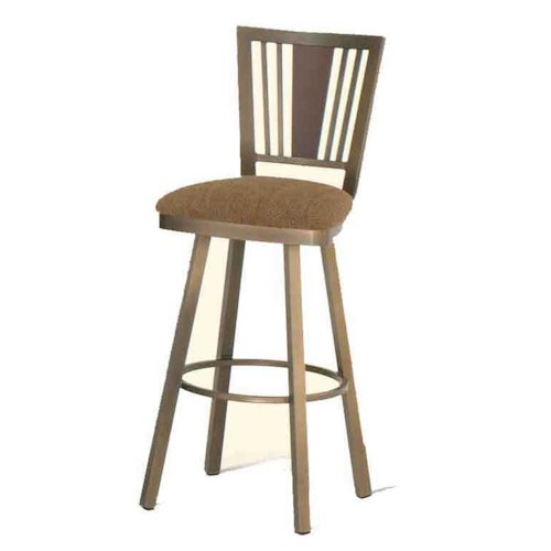 Amisco Transitions Madison Tall Stool Becker Furniture World Bar Stool Twin Cities