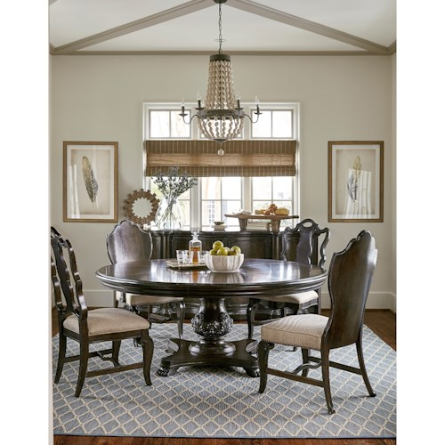 A r t furniture inc continental casual dining room group for A r t dining room furniture