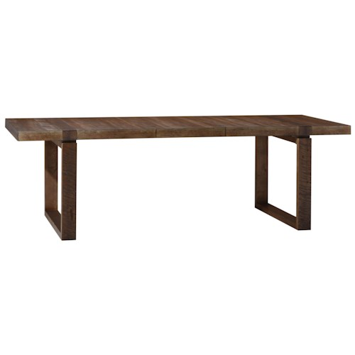 Peninsula Rectangular Dining Table: A.R.T. Furniture Inc Epicenters 223220-2302 Williamsburg
