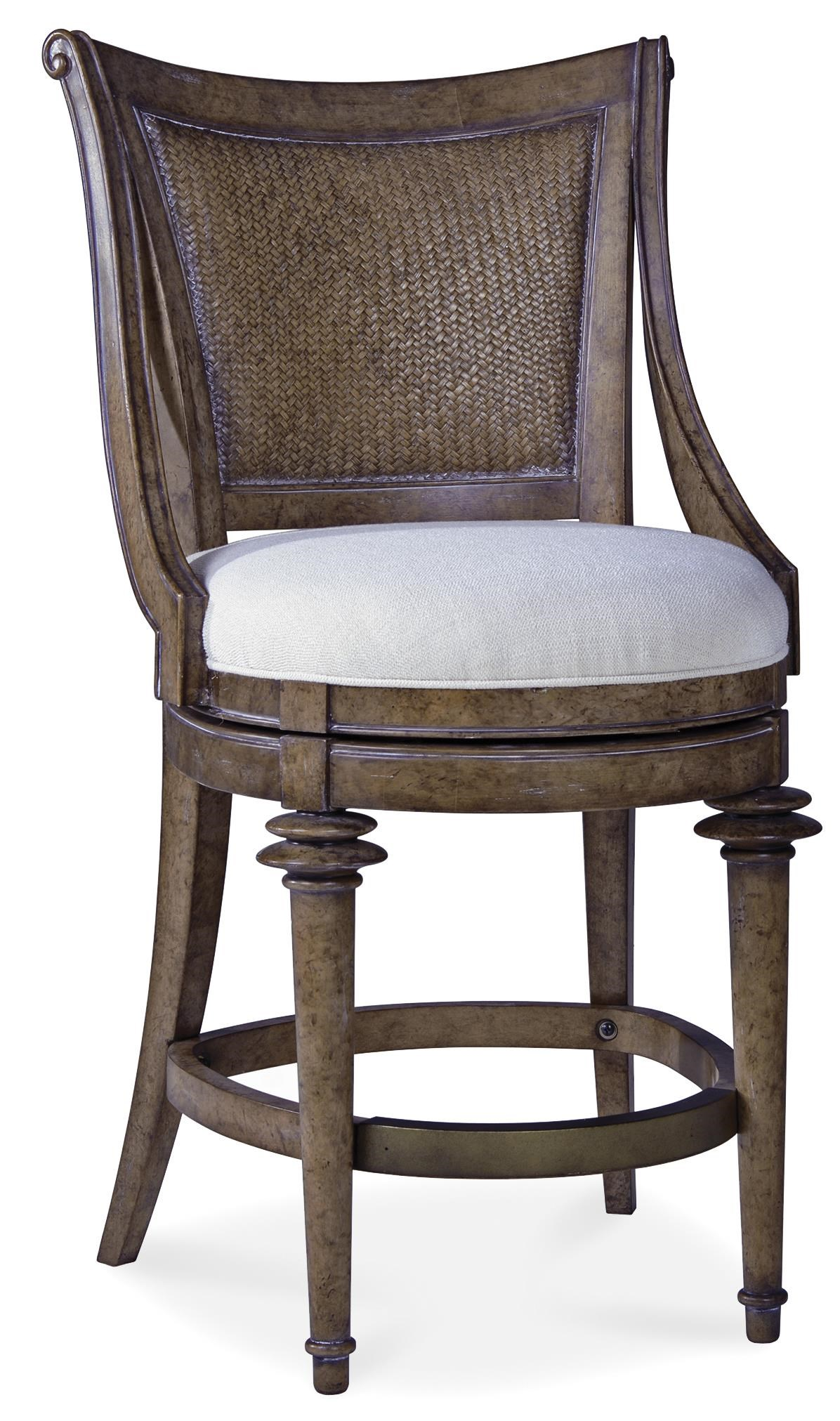 A.R.T. Furniture Inc Pavilion 229209-2608 Woven-Back High Dining Chair : Baeru0026#39;s Furniture : Bar ...