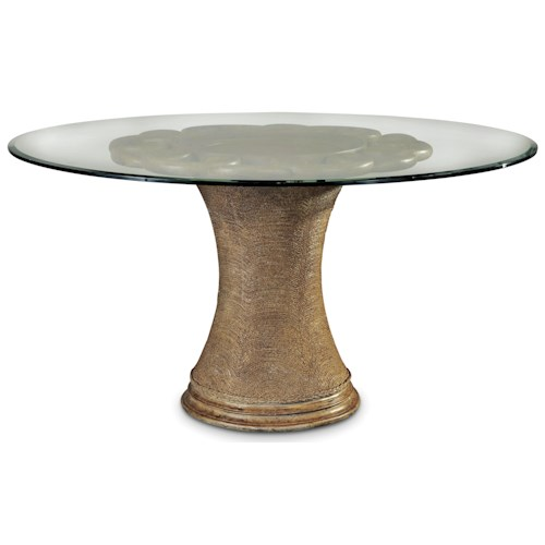 Dining Room Table A R T Furniture Inc Pavilion 54 Inch Round Dining