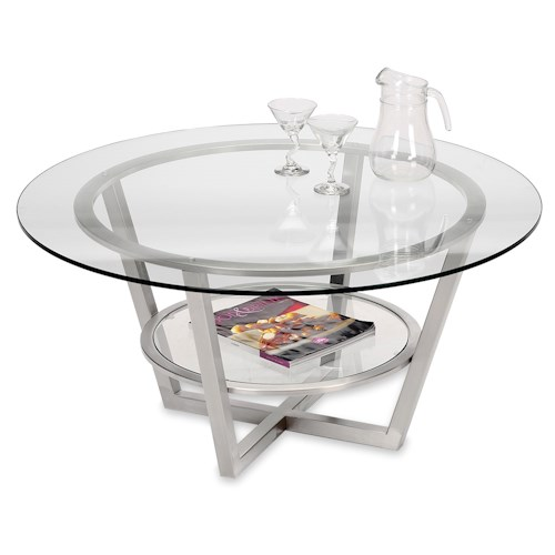 Round Coffee Tables Toronto: Artage International Athens Round Cocktail Table