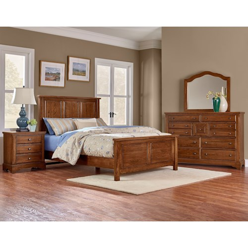 Artisan Post Artisan Choices Queen Bedroom Group Wayside Furniture Bedroom Groups