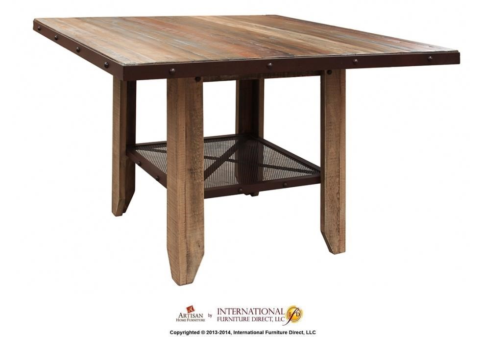 "International Furniture Direct 900 Antique 52"" Counter"