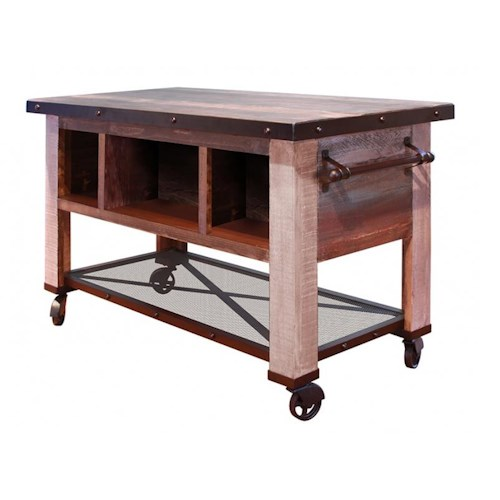 Kitchen Islands Made From Old Furniture: International Furniture Direct 900 Antique 5 Drawer
