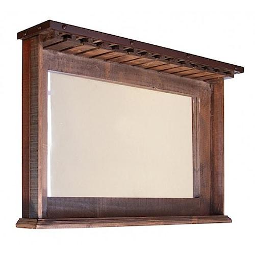 international furniture direct 900 antique rustic bar. Black Bedroom Furniture Sets. Home Design Ideas