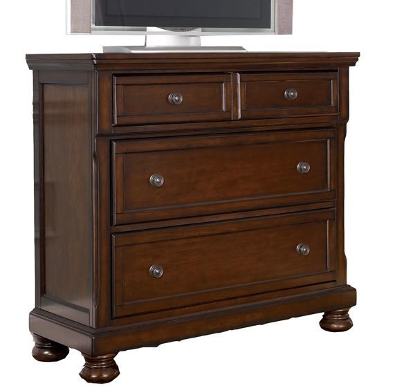 Ashley Furniture Porter Bedroom Collection Media Chest