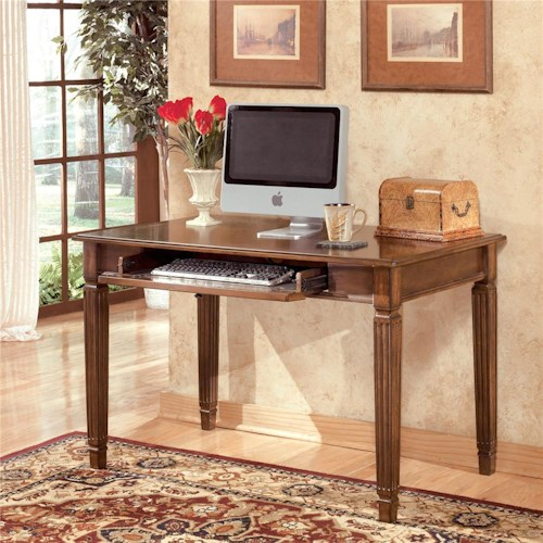 Signature Design By Ashley Hamlyn Small Leg Desk Royal Furniture Table Desk Memphis Jackson