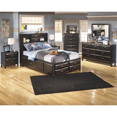Ashley Furniture Kira Full Bedroom Group - Regency Furniture - Bedroom ...