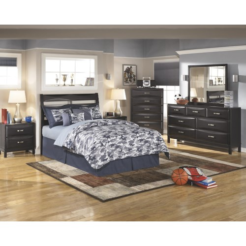 Ashley Furniture Kira Full Bedroom Group Godby Home Furnishings Bedroom Groups Noblesville