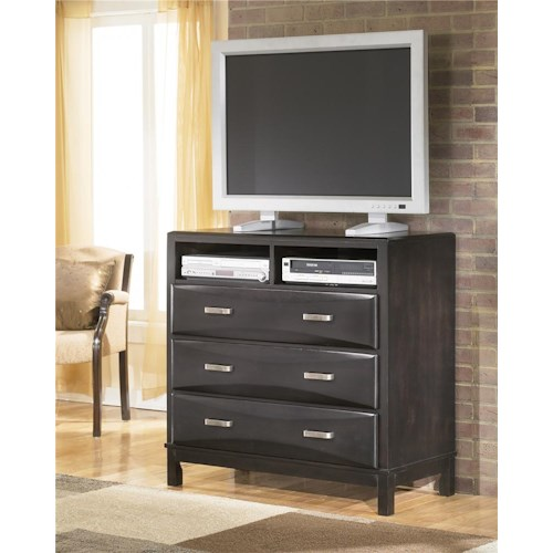 Ashley Furniture Kira 3 Drawer Media Chest Furniture And Appliancemart Media Chests Stevens